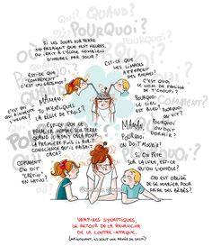 Petit précis de Grumeautique - Blog illustré Vampires, Mantra, Super Mum, Real Moms, Humor Grafico, Mother And Child, Positive Attitude, Photo Illustration, Illustrations