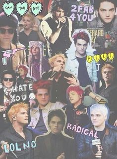 gerard the sass queen collage - Google search