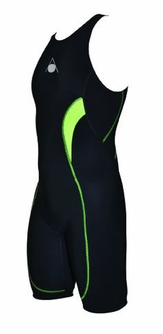 Aqua Sphere Men's Energize Compression Trisuit, Black, 34 Comfortable silicone leg grips prevent ride-up. Zipped back pocket for easy storage and access to nutrition. Bioactive Fleece Chamois. Comfort ? bike. Discreet ? run.  #Aqua_Sphere #Sports