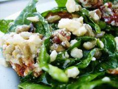 Boski+szpinak!+(sałatka):+Zachwyciła+mnie,+co+tu+dużo+mówić.+Rozkochała+od+pierwszego+zielonego+listka.+I... Potato Salad, Salads, Food And Drink, Potatoes, Favorite Recipes, Ethnic Recipes, Diet, Potato, Salad