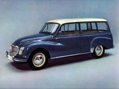 1959–62 Auto Union 1000 Universal - My father had one of these. Unfortunately it was mustard coloured.
