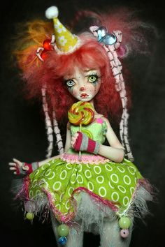 Beautiful Porcelain BJD Ball Jointed Doll from Forgotten Hearts