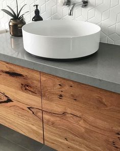 Recycled Messmate Vanity. Timber Revival, Melbourne. Made in Melbourne, shipped nationally around Australia.