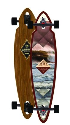 Dream longboard Arbor Longboard Mindstate Walnut