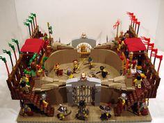 ACPin | Lego | Dioramas | Gladiator Arena