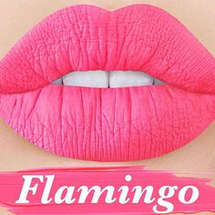 COMING SOON : 'FLAMINGO' Bright flamingo pink Velvetine! Subscribe to be notified when this limited edition shade drops: limecrime.com/velvetines