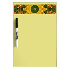 #flower - #Californian Poppies Nature Flower-Mandala Dry Erase Board
