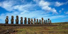 Discover the mystery of Easter Island & visit Santiago on this & Santiago & Easter Island Tour with SouthAmerica. Chile Tours, Machu Picchu Tours, Mysterious Places, Easter Island, Seven Wonders, Island Tour, World Heritage Sites, South America, Travel Inspiration