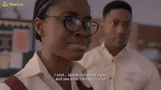 MTV Shuga Naija S04E05: Tobi Don Carry – Myopic Concaves Stupid Girl, I Said, God Is Good, Mtv, Carry On, How To Remove, Sayings, Hand Luggage, Quote