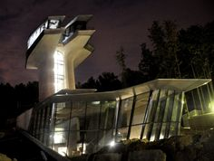 Space age architecture- Naomi Campbell's new home in Rublyovka, Moscow