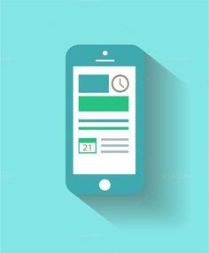 Smartphone material design light