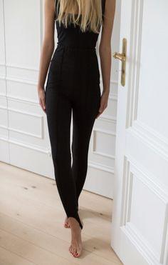 Materiałowe spodnie - Wszystkie - MLE Collection