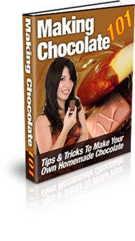Making Chocolate 101:  Studies have suggested that eating chocolate on a regular basis can have some health benefits for people. Now you don't have to miss out on those health benefits, or the joy of eating really good chocolate, anymore. It's true! Making your own homemade chocolate allows you to control the ingredients and to control things like the amount of sugar in the chocolate.  http://vzturl.com/jm25
