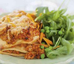 Kycklinglasagne med LCHF-pasta
