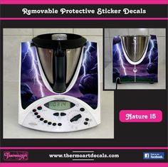 Thermoart decal stickers for your thermomix