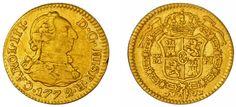 1/2 GOLD ESCUDO-ORO. CHARLES III-CARLOS III. MADRID 1772. VF/MBC. INTERESANTE.