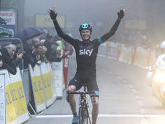 114. Criterium International - Stage 3: Porto-Vecchio - Col de l'Ospedale [24/03/2013] Chris Froome
