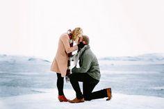 Muitos casais adoram uma vida ao ar livre e possuem um estilo de vida mais aventureiro. Por que não pedir uma ajudinha da mãe natureza para tornar o seu pe