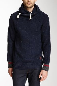 Scotch & Soda Hooded Knit Sweater