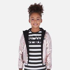 Kurtka dla dużej dziewczyny przejściowa Mayoral Vogue, Jackets, Fashion, Down Jackets, Moda, Fashion Styles, Fashion Illustrations, Jacket, En Vogue