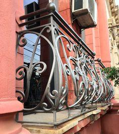 Detalle de un balcón de Asunción-Paraguay