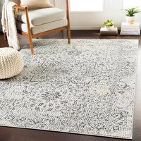A neutral beautiful modern farmhouse rug that's affordable. This is my favorite place to get rustic rugs for my living room, dining room, kitchen, and more! Design Blog, E Design, Interior Design, 2020 Design, Design Elements, Beige Carpet, Wool Carpet, Cheap Carpet, Bedrooms