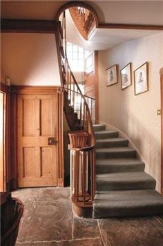 Staircase 5 bedroom detached house for sale Stourton, Shipston-on-Stour, Warwickshire, Guide Price