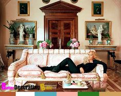 Donatella Versace Home | Celebrity Homes, Donatella Versaces Milan Apartment, Decor, Empire ...