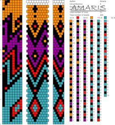 8 around bead crochet rope pattern Bead Crochet Patterns, Bead Crochet Rope, Peyote Patterns, Beading Patterns, Crochet Beaded Bracelets, Beaded Bracelet Patterns, Seed Bead Jewelry, Bead Jewellery, Crochet Dreamcatcher