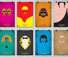 WWF Legends Minimalist Posters