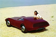 Dodge Charger III Concept 1968.