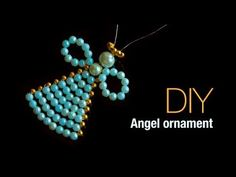 How to make christmas angel ornaments, christmas tree decoration , DIY easy angel ornament, My