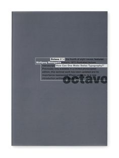 8vo / Octavo 87.4 / International Journal of Typography / Issue 4 / #viaGlamour