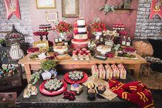 Sweet Table from a Harry Potter Birthday Party via Kara's Party Ideas | KarasPartyIdeas.com (19)
