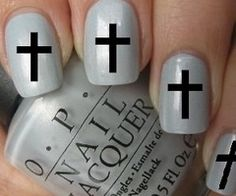 Very sweet cross nail