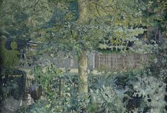 Edouard Vuillard French, 1868–1940 Foliage—Oak Tree and Fruit Seller, 1918 © 2013 Artists Rights Society (ARS), New York / ADAGP, Paris