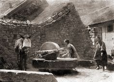 Chinese Grain Mill, circa early 1900s