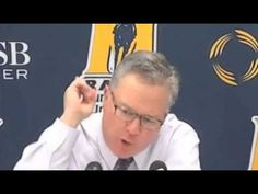SIU coach Barry Hinson Epic Rant (FULL VIDEO) - YouTube hilarious! watch this rant from a college basketball coach