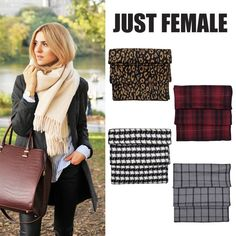 Get warm with style ;)  Just Female