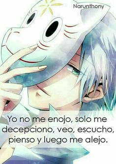 Frases de Anime | Frases de Narunthony | Anime | Frases | Phrases | Quotes | Narunthony | Otaku | Anime Quotes | Sad | Animeboy | Desmotivaciones