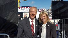 Illinois State Representative Jeanne M. Ives: Rep. Ives Honored to Attend U.S.S. Illinois Christening
