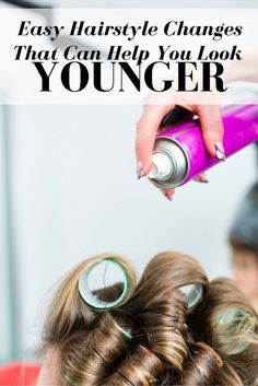 Easy Hairstyle Changes That Can Help You Look Younger - Did you know the way you style your hair can add or take away years. Here are a few simple tips for your hair that can help you look your age, or heck, even younger! Hairstyle Look, Easy Hairstyles, Hairdos, Pretty Hairstyles, Wedding Hairstyles, Hair Secrets, Hair Tips, Hair Hacks, Medium Hair Styles