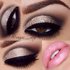 Gorgeous for night make up Pretty Makeup, Love Makeup, Stunning Makeup, Gorgeous Eyes, Flawless Makeup, Perfect Makeup, Pretty Eyes, Makeup Goals, Makeup Tips