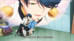 Hori and Kashima - When the roles are helplessly reversed...