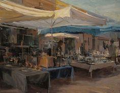 Derek Penix - Market- Oil - Painting entry - December 2011 | BoldBrush Painting Competition