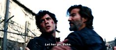 Bellamy coming to save Clarke