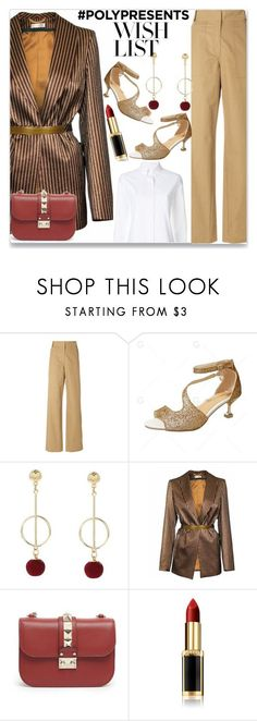 """""""#PolyPresents: Wish List"""" by almamehmedovic-79 ❤ liked on Polyvore featuring Ottolinger, JIRI KALFAR, Valentino, L'Oréal Paris, Thom Browne, contestentry and polyPresents"""