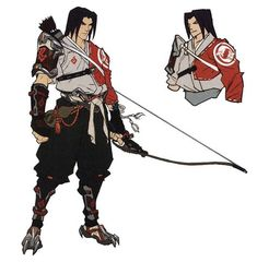View an image titled 'Young Hanzo Concept Art' in our Overwatch art gallery featuring official character designs, concept art, and promo pictures. Game Character Design, Fantasy Character Design, Character Design Inspiration, Character Concept, Character Art, Archer Characters, Fantasy Characters, Fantasy Armor, Anime Fantasy