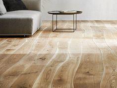 Oak Floor Tiles / Parquet by Bolefloor: Curved Floor Boards