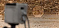 La campagne de mesures infrarouges sur la pyramide de Kheops donne ses premiers résultats. ©HIP